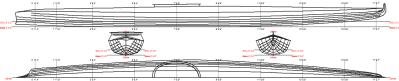Figure 178 Unalaska Aleutian Kayak_Linesplan