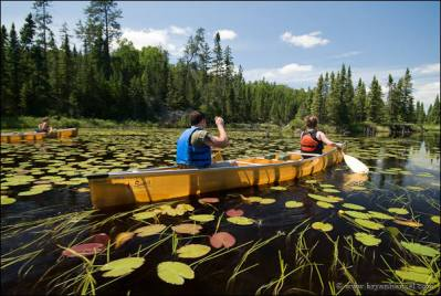 Canoeing the Kelso River Route