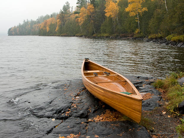 Fall canoe camping in the Boundary Waters