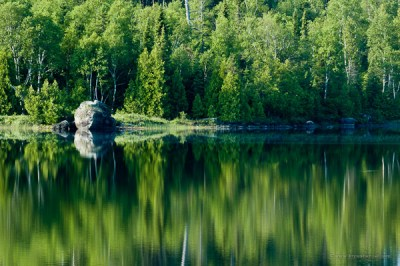 Lake Four in the Boundary Waters
