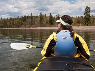Tandem kayak on an Expedition