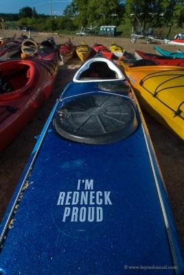 redneck kayaking