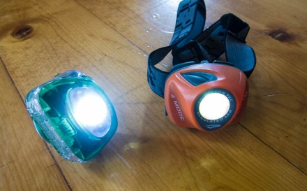 Zipka Plus vs. EOS headlamps