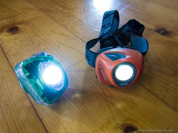 Zipka Plus vs. EOS headlamps