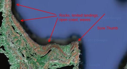 Belcher Islands sea kayaking the hard part