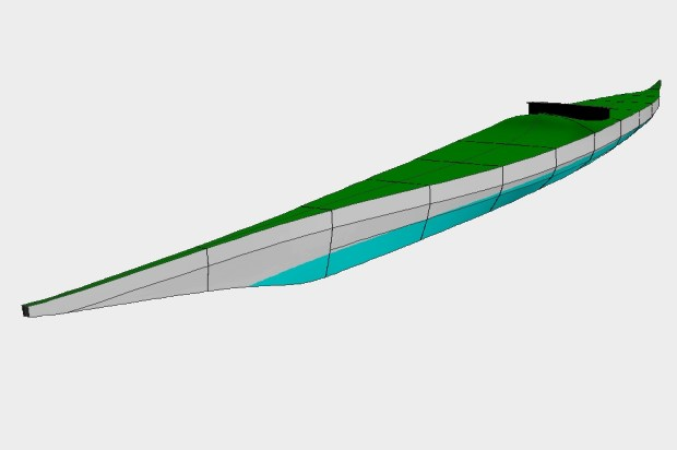 Belcher Island kayak plans
