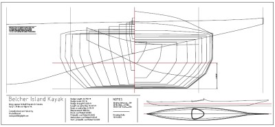 belcher island kayak study plans