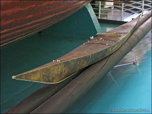 fram museum kayak
