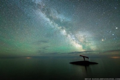 Canoeing to the Milky Way