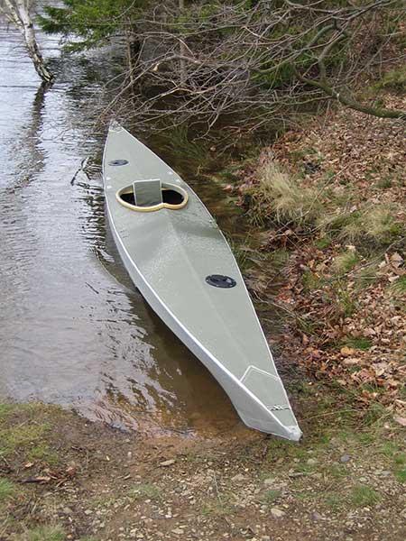 walrus folding kayak on the water