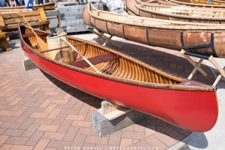 Restored Peterborough canoe