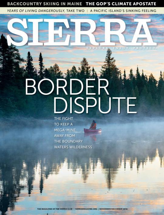 sierra magazine cover