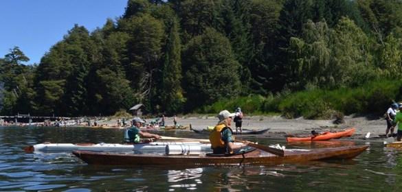 paddling skin on frame kayaks