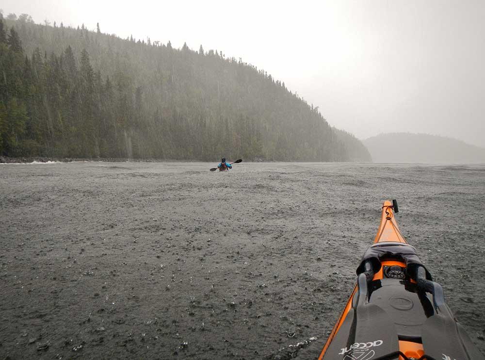 kayaking Lake Nipigon