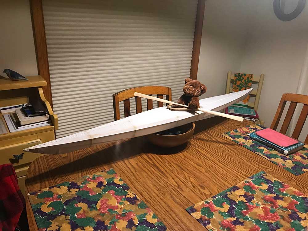 Bear Goes Kayaking • PaddlingLight.com
