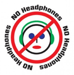 no head phones