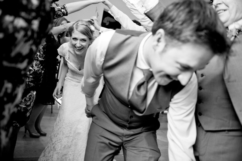 Emily and Trent's Whiskers Wedding Arch Ceilidh Dance