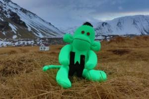 Welshot Monkey in Arnarstapevegur