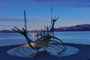 Long exposure of the Sun Voyager