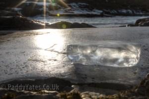 Ice at Urridafoss
