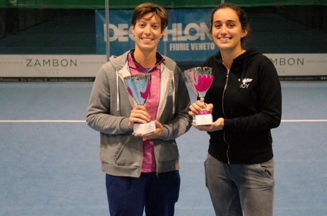 Rebecca Corai e Letizia Dell'Agnese