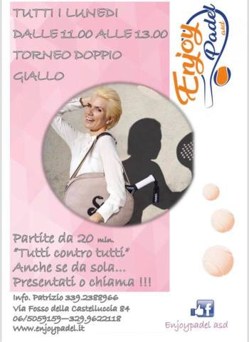 donne enjoy padel