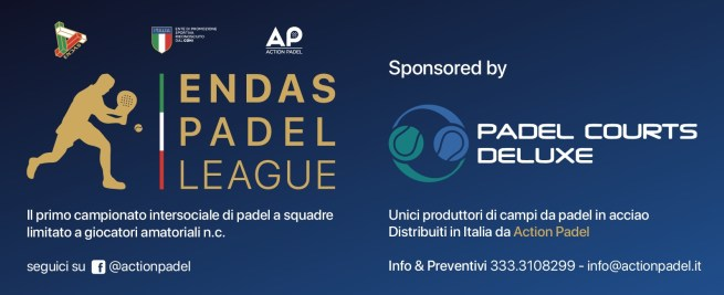 endas padel league, padel,