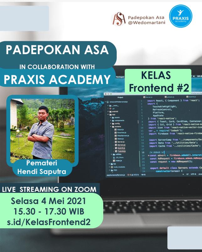 Praxis Academy: Kelas Frontend #2
