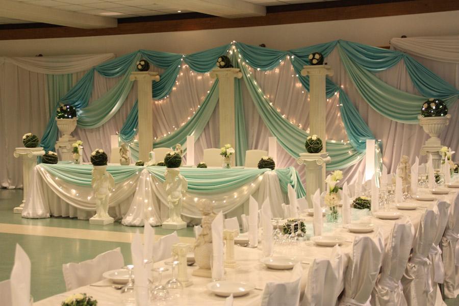 Hochzeitsdeko Trkis