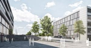 Neues Lern- und Bibliothekszentrum Uni Paderborn