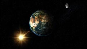 Sunce Zemlja Mesec