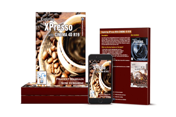 Book - Exploring XPresso With CINEMA 4D R19 - PADEXI Academy