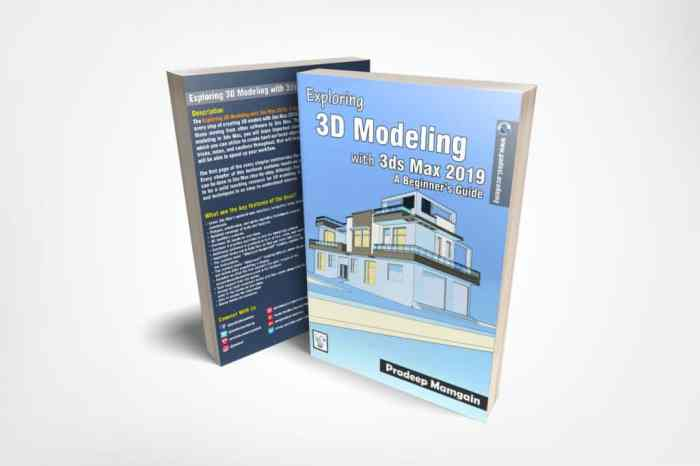 Book - Exploring 3D Modeling with 3ds Max 2019