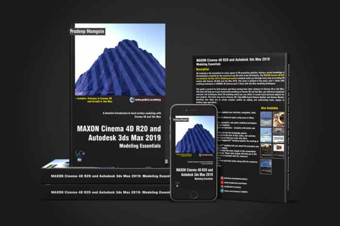 Cinema 4D R20 and Autodesk 3ds Max 2019: Modeling Essentials