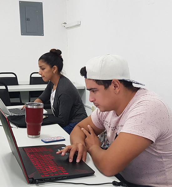 """A """"mapathon"""" exercise with Galen University students."""