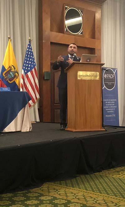 Yefrin Garavito, consultor experto en ciberdelincuencia.
