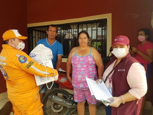 We are also working alongside the Colombian emergency management agency, Defensa Civil, and the National Guard to reach communities in remote areas.