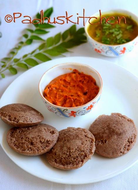 Ragi Idli Recipe-Soft Finger Millet Idli Recipe - Padhuskitchen