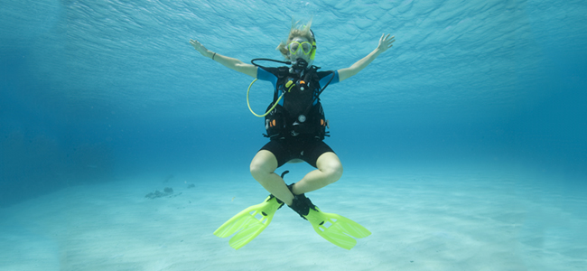 Wellington Buoyancy Control course, NZ Sea Adventures Dive, Diving