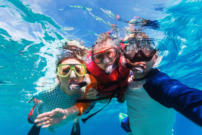 Advice to Family Divers from a PADI Pro