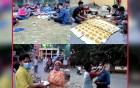 নবাবগঞ্জ সরকারি কলেজ ছাত্রলীগের ইফতার ও মাস্ক বিতরণ