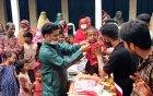 ৫শ' শিশুর মুখে হাসি ফোটালেন গুরুদাসপুর উপজেলা ছাত্রলীগ সভাপতি
