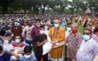 রাজশাহী নগরের আরও ৩ হাজার পরিবার পেল খাবার সামগ্রী