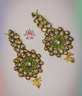 latest design of gold earrings jewelry