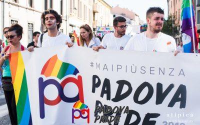 Comunicati Pride Day: a Padova il 30 giugno la sfilata del Pride Regionale Veneto 2018