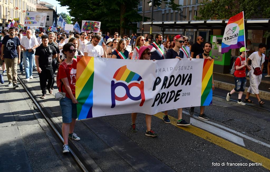 PRIDE LGBTI+ NEL VENETO MAGGIO E GIUGNO 2019