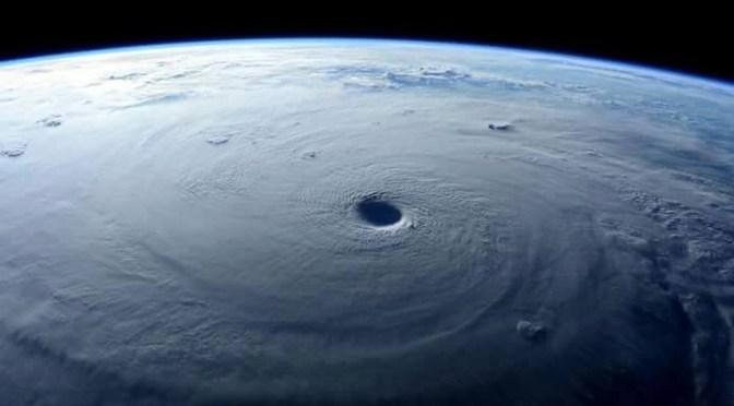 El ojo de tormenta