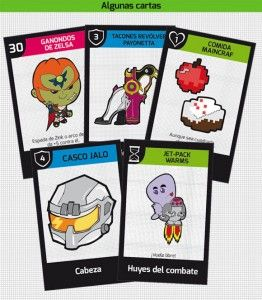 Algunas cartas de No Game Over