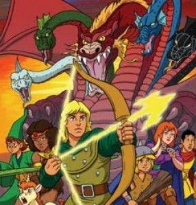 Dragones y Mazmorras dibujos animados