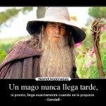 Un mago nunca llega tarde